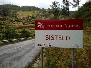 Placa sinalização-Aldeias de Portugal-Sistelo